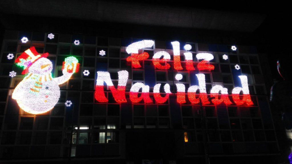 ★ Luces de Navidad Riobamba 2016