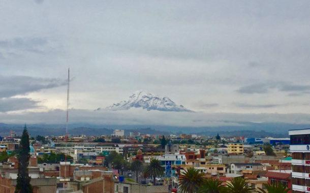 Espectacular Fotografía de Riobamba y el Coloso de los Andes