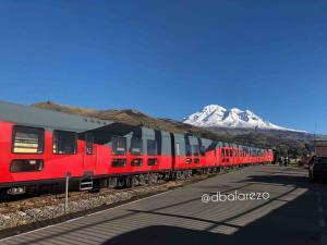 tren del hielo riobamba Lugares Turisticos de Riobamba