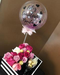 arreglos de cumpleaños con globos