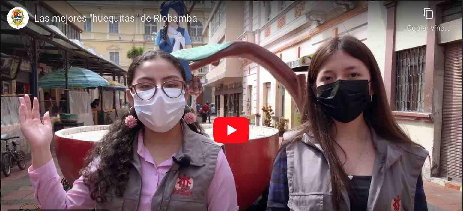 "VIDEO: Las mejores ""huequitas"" de Riobamba"