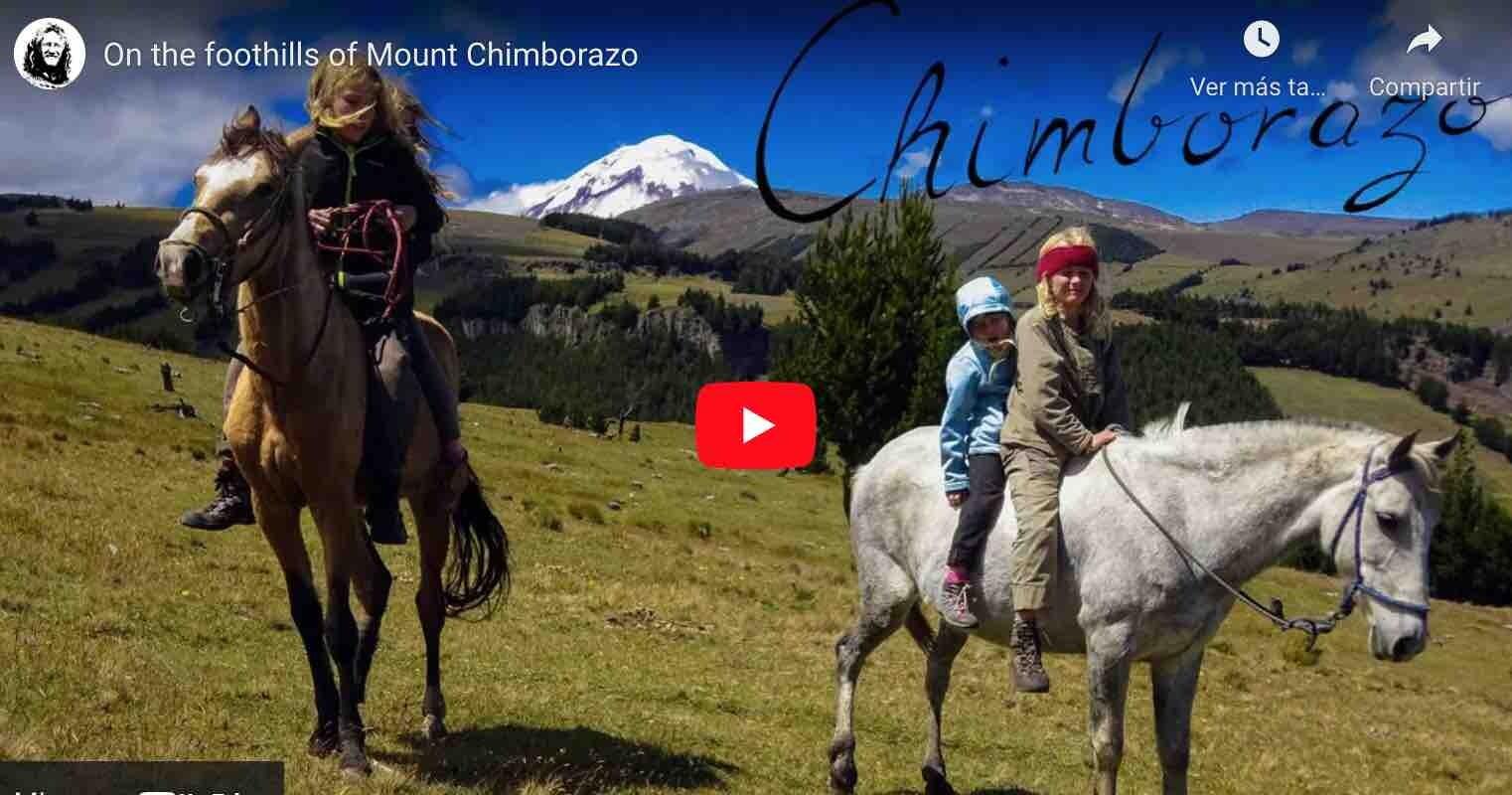 VIDEO: Compraron un caballo y pasaron dos meses en el Chimborazo | Increíble familia nómadas alemanes