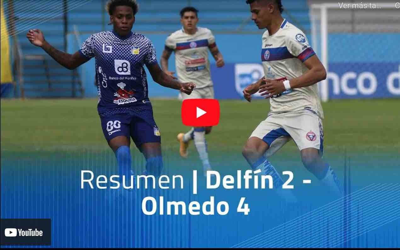 VIDEO: Delfín 2 – Olmedo 4 Goles del Partido