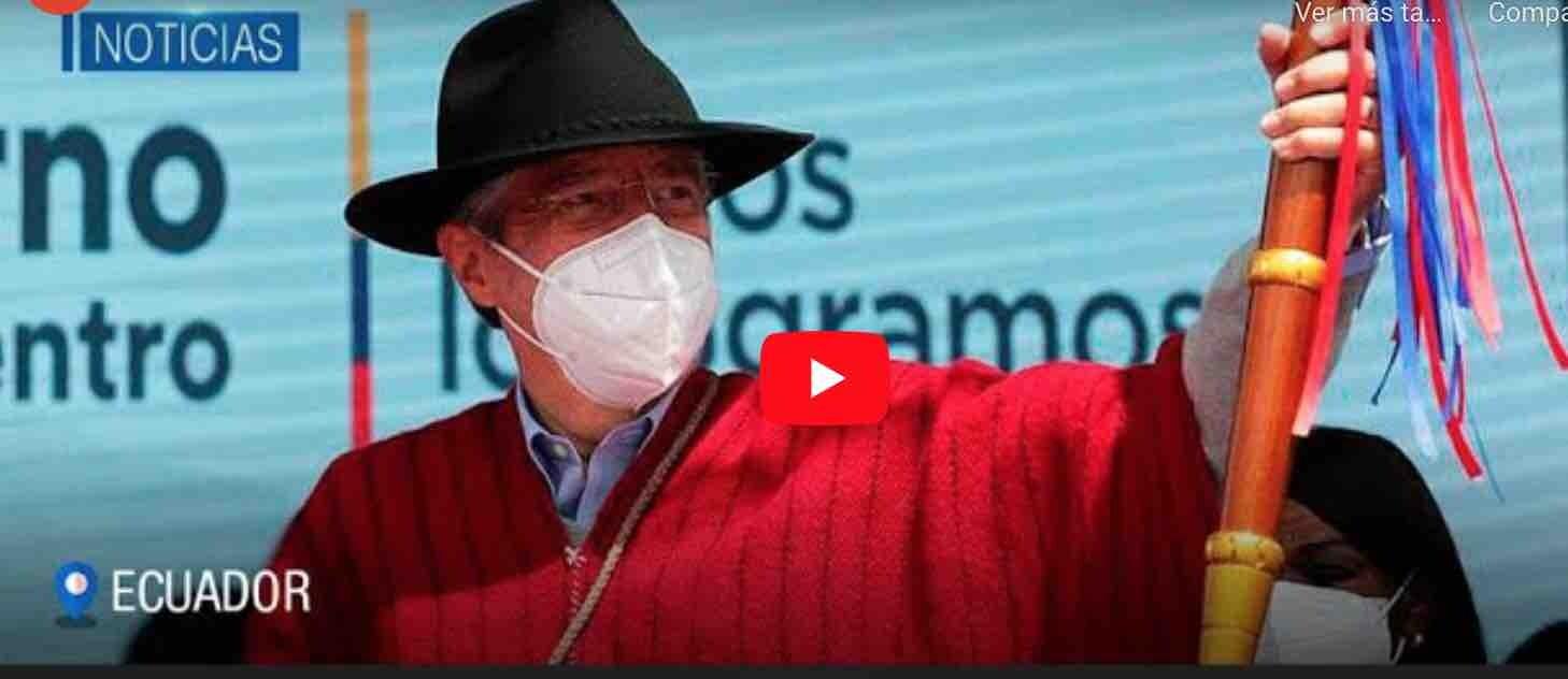 VIDEO: Presidente Lasso Ofrece Concluir la vía RIOBAMBA – AMBATO