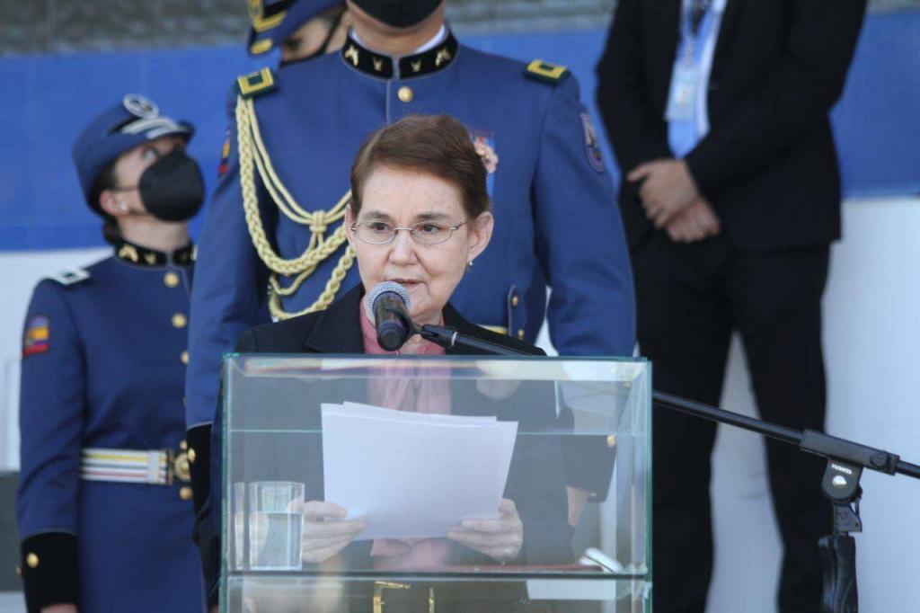 ministra de gobierno
