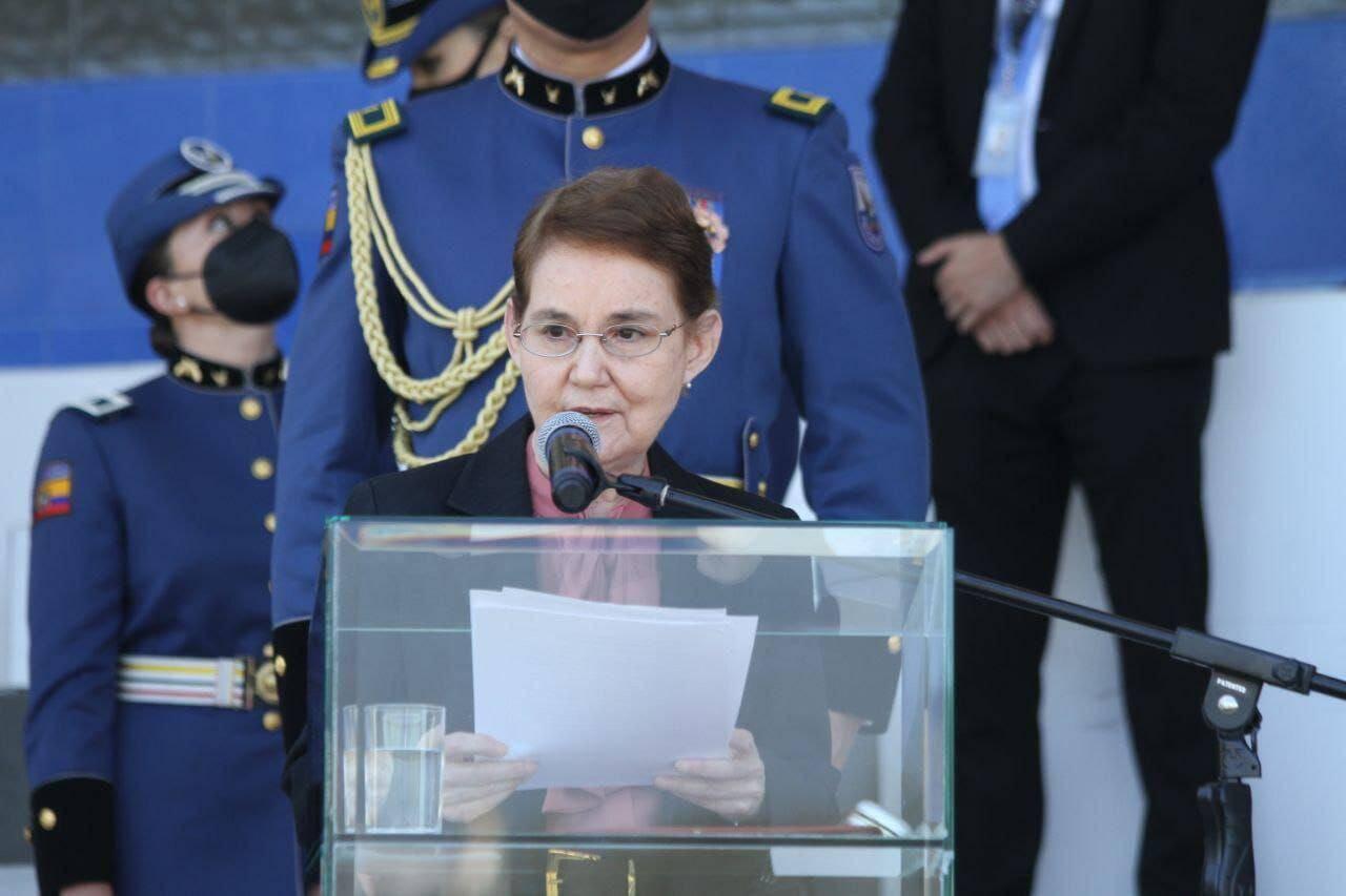 Nueva Ministra de Gobierno del Ecuador