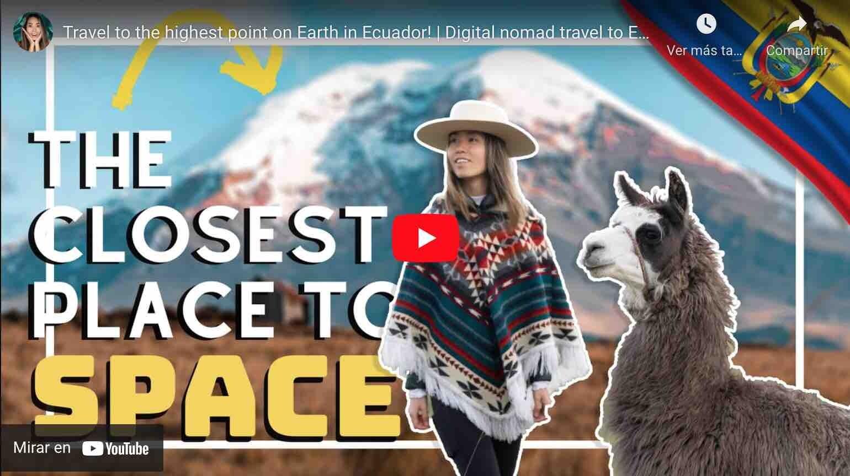 VIDEO: Nómada Digital de China y su Reacción Frente al Chimborazo